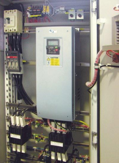 Шкаф управления азимут к электростанции
